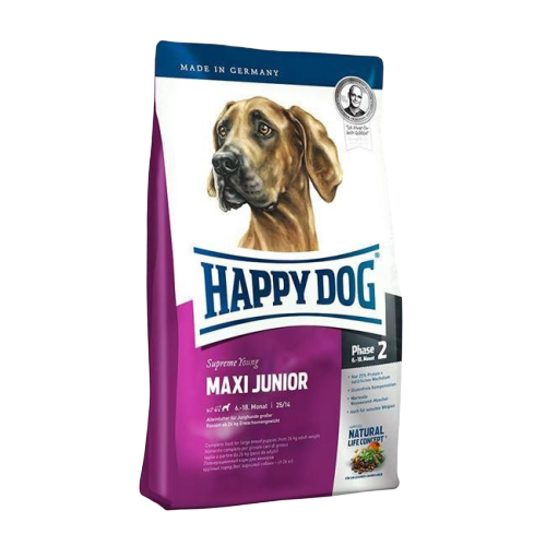 HAPPY DOG MAXI JUNIOR 15K.G