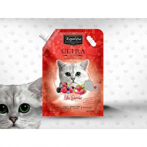 Royal Cat Plus Ultra Clumping Cat- Mix Berries - litter 5 Litre