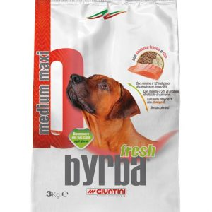Byrba Fresh Medium Maxi Complete Food For Medium and Maxi Adult Dogs 3 Kg