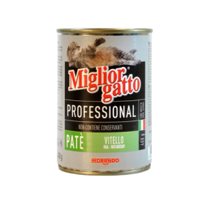 MIGLIOR GATTO PATE WITH VEAL 400G
