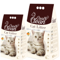 Cool & Clean Clumping- Orange – Cat Litter 10 L
