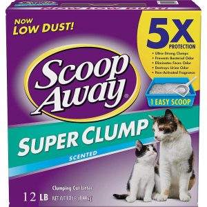 Scoop Away Super Clump Cat Litter 5.44 kg