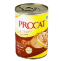 PROCAT CHUNKS GRAVY WITH DUCK 415G