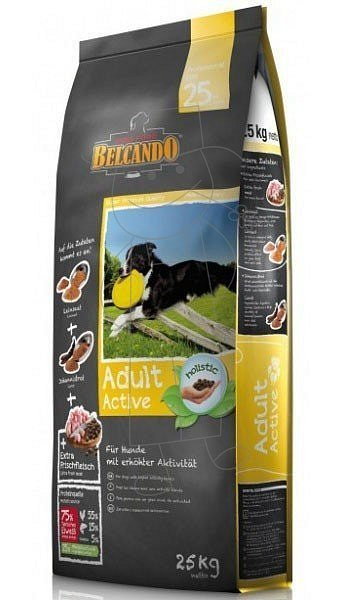 Belcando Adult Active For Dogs Holistic 25 Kg