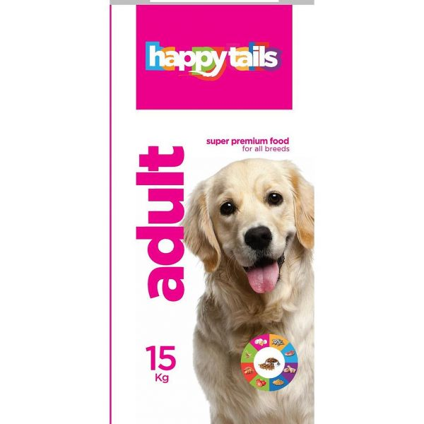 Happy tails Adult Dog Food Small Breed 1Kg