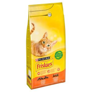 Purina Friskies With Chicken & Vegetable Cat Dry Food 1.7 kg