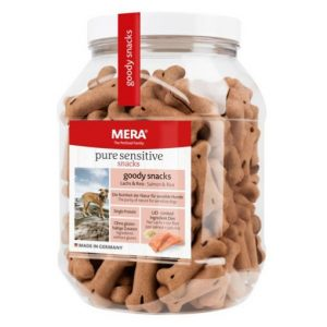 MERADOG Pure Sensitive Goody Snacks with Salmon & Rice 600g