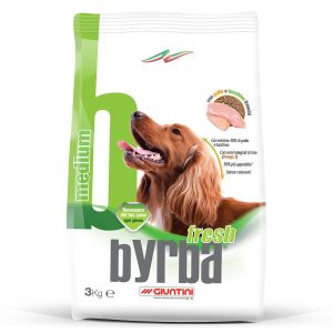Byrba Fresh Medium Complete Food For Medium Adult Dogs 3 Kg