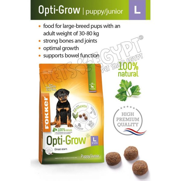 Fokker Opti-Grow Puppy Junior L 2.5 Kg