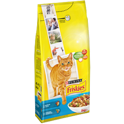 Purina Friskies With Salmon & Vegetable Cat Dry Food 1.7 kg