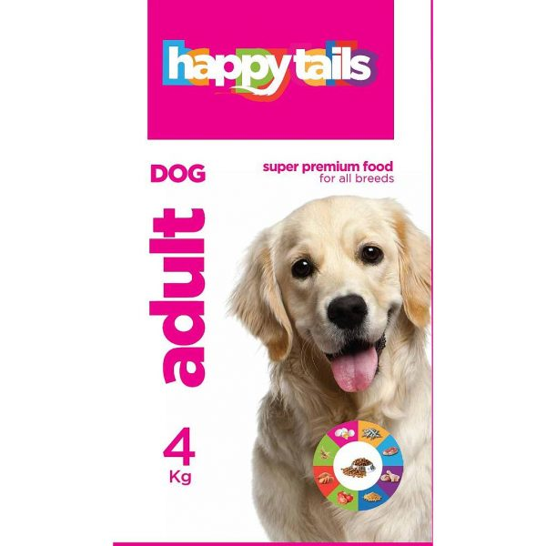 Happy tails Adult Dog Food 4 Kg