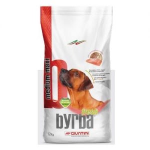 Byrba Fresh Medium Maxi Complete Food For Medium and Maxi Adult Dogs 12 Kg