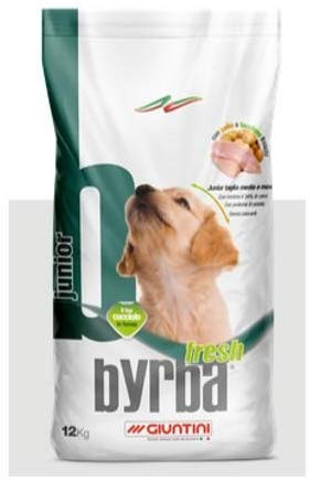 Byrba Fresh Junior Complete Food For Medium and Maxi Puppies 3 Kg