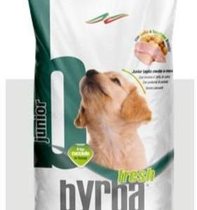 Byrba Fresh Junior Complete Food For Medium and Maxi Puppies12 Kg