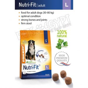 Fokker Nutri-Fit Dog Food Adult L 13 Kg
