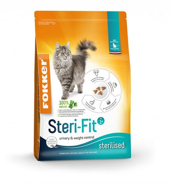 Fokker Steri-Fit Cat Dry Food 10 kg