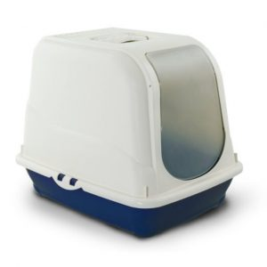 MP Bergamo Toilet Oliver - navy blue-Closed Litter Box