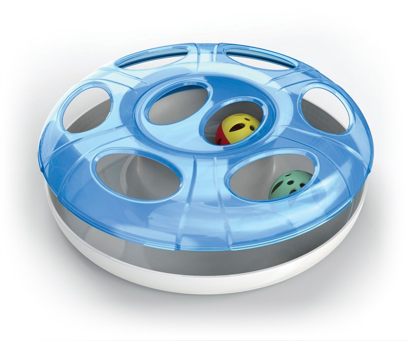G-PLAST Ufo Cat Toy With Two Balls
