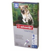 1 Dose x Advantix for dogs 25kg and over