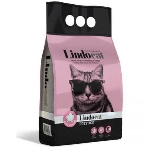 LindoCat Clumping Cat Litter- Baby Powder - 10 L