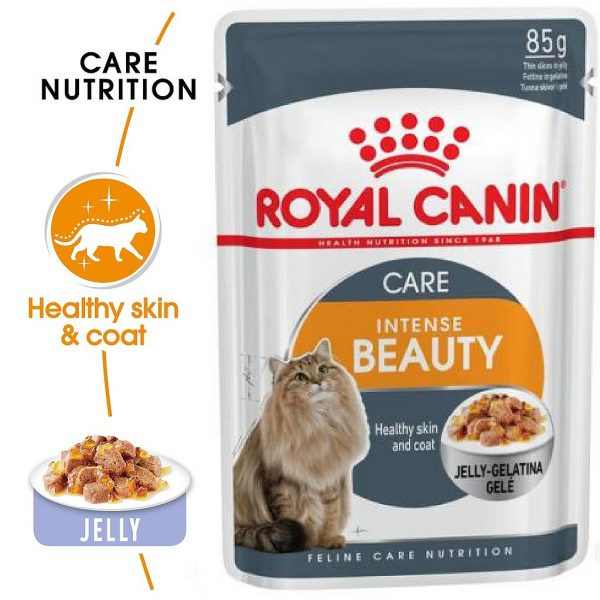Royal Canin INTENSE BEAUTY Care Jelly 85g