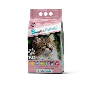 Benty Sandy Clumping Cat Litter-Baby Powder- 10 L