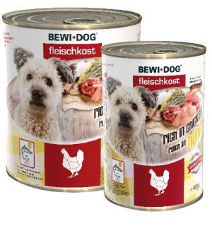 BEWI DOG CAN CHICKEN 400G
