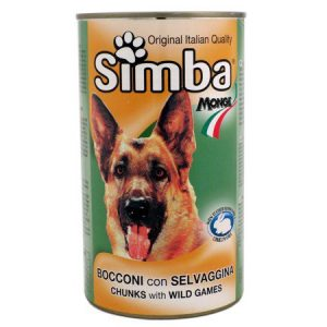 Simba Chunks With Wild Games 415 Gram Dog Cans