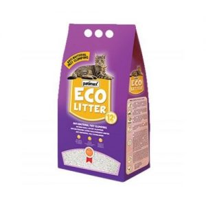 Patimax Eco Litter Clumping-Orange - 9.6 Kg