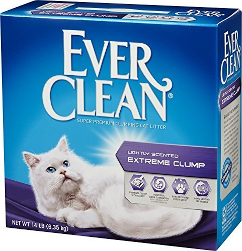 Ever Clean Lightly Scented Extreme Clump Cat Litter 6.35 kg