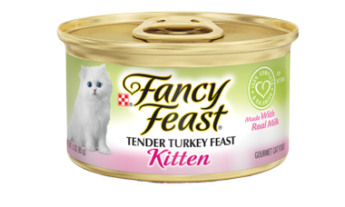 FANCY FEAST KITTEN CLASSIC PATE TURKEY 85G
