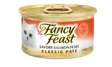 FANCY FEAST SAVORY SALMON CLASSIC PATE 85G