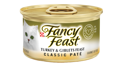 Fancy Feast Turkey & Giblets CLASSIC PATÉ 85G