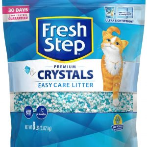 FRESH STEP SCENTED CRYSTALS PREMIUM CAT LITTER 4LB