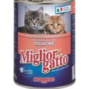 MIGLIOR GATTO CHUNKS WITH SALMON 405 GM