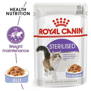 Royal canin STERILISED JELLY-GELATINA-GELE 85g