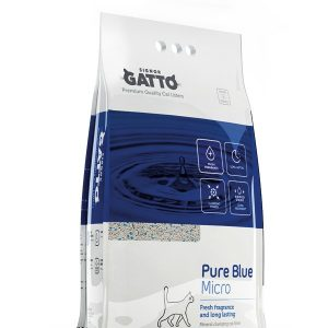 Signor Gatto Pure Blue Micro Clumping Cat Litter 10 L