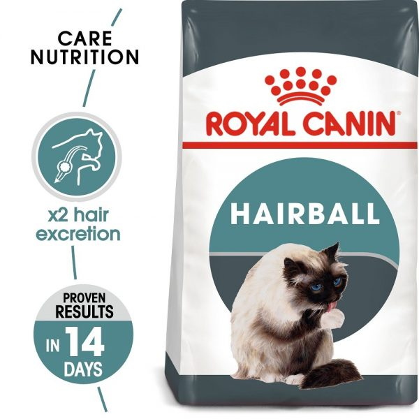 Royal Canin Intense Hairball Dry Cat Food 400 g