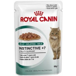 Royal canin INSTINCTIVE +7 JELLY-GELATINA-GELE 85g