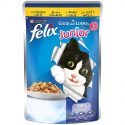 Purina Felix As Good as it Looks Wet Cat Food Pouch– Junior Chicken in Jelly100 g