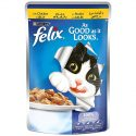 Purina Felix As Good as it Looks Wet Cat Food Pouch– Chicken 100 g