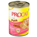 PROCAT PATE WITH VEAL 400G