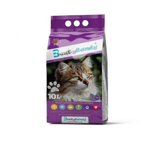 Benty Sandy Clumping Cat Litter-Lavender- 10 L