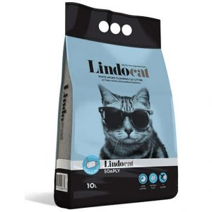 LindoCat Clumping Cat Litter- Clean Fresh - 10 L