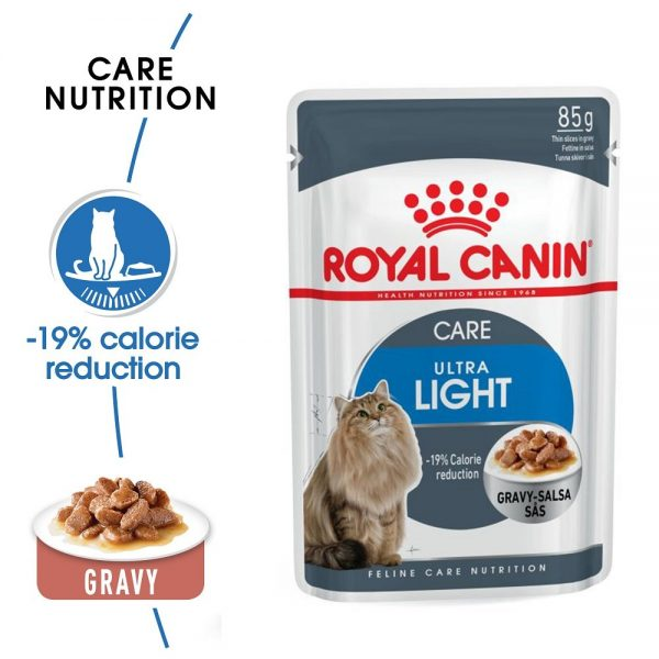 Royal canin ULTRA LIGHT GRAVY 85g