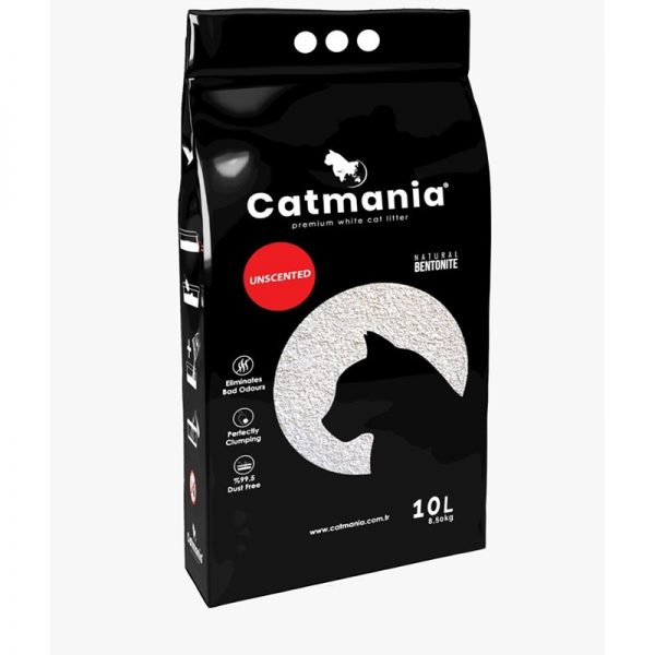 Catmania Cat Litter Clumping - Unscented 10 L