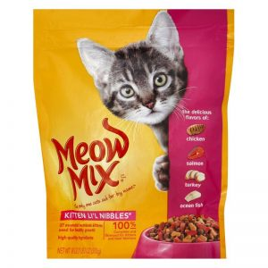 Meow Mix Kitten Cat Food 510 gm
