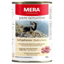 MERA PURE SENSITIVE WITH POULTRY HEARTS 400G