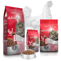 Bewi Cat Delicaties For Adult Cats Rich in Chicken 1 Kg