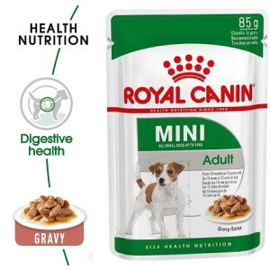 Royal Canin Mini Adult Pouch Gravy 85g